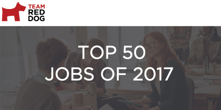 Top 50 Jobs for 2017