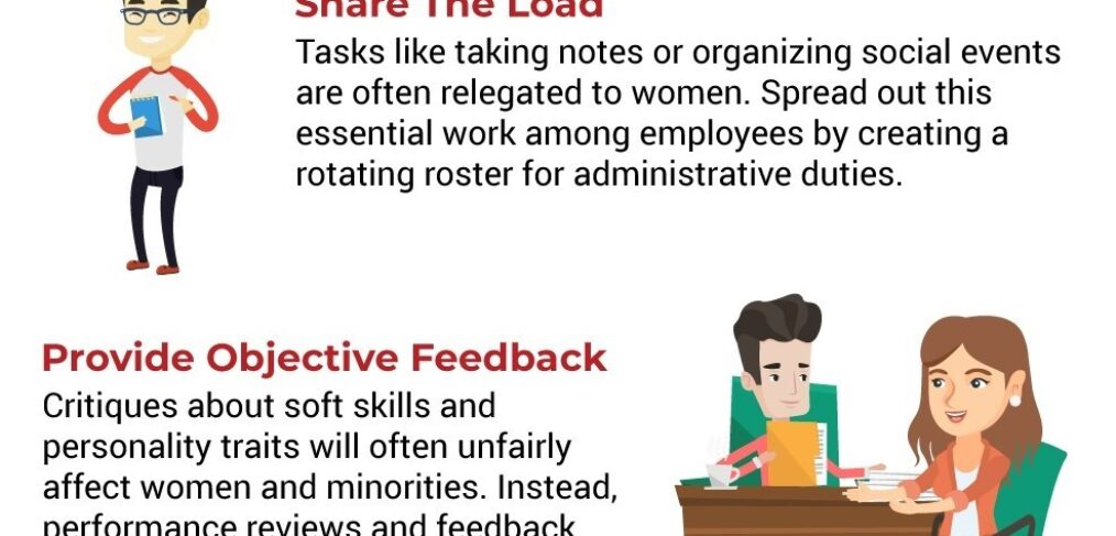 Snippet of actionable tips on retaining diverse hires infographic