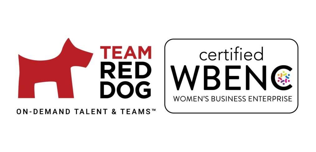 Team Red Dog and WBENC logos