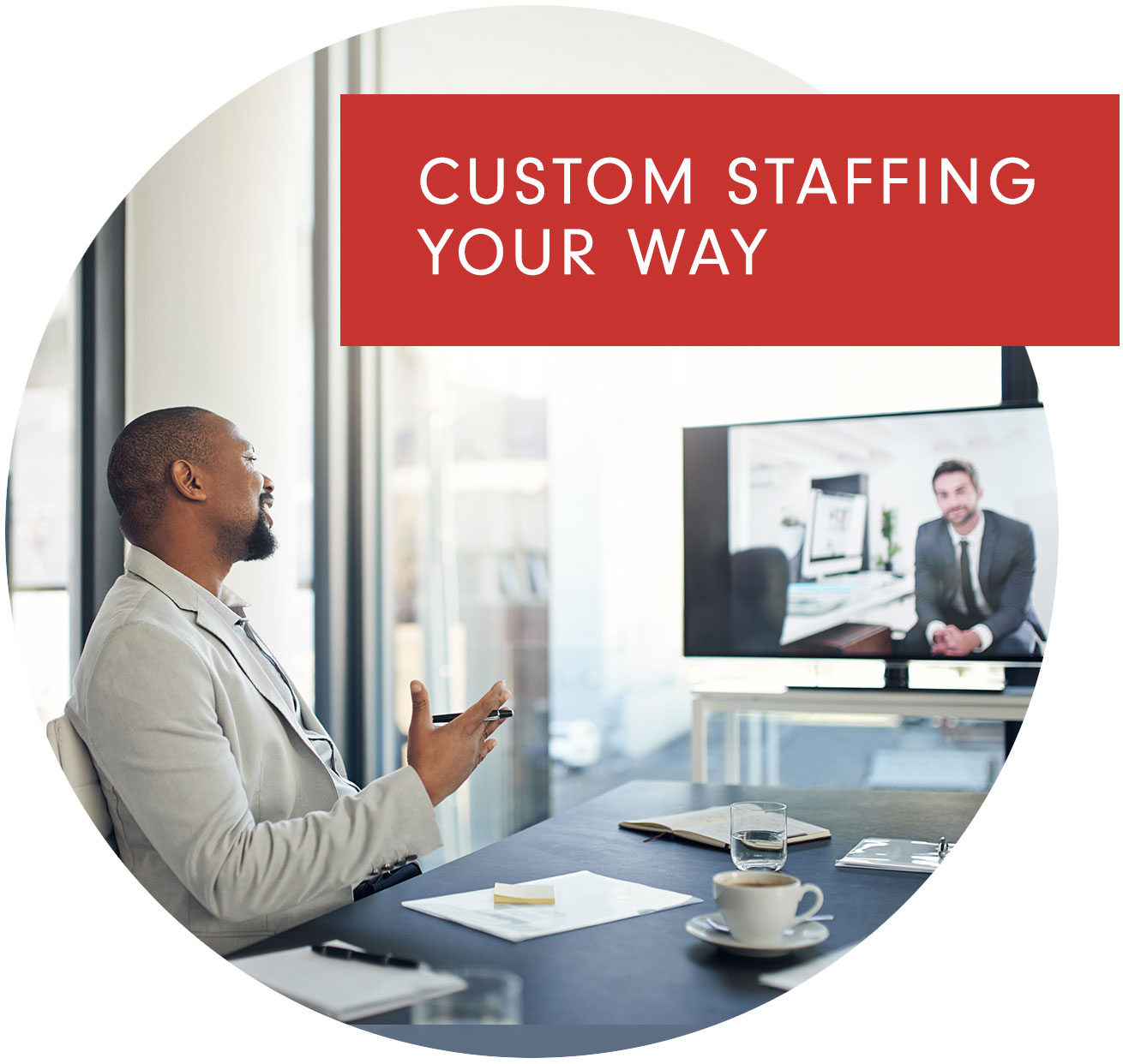 Custom Staffing Your Way