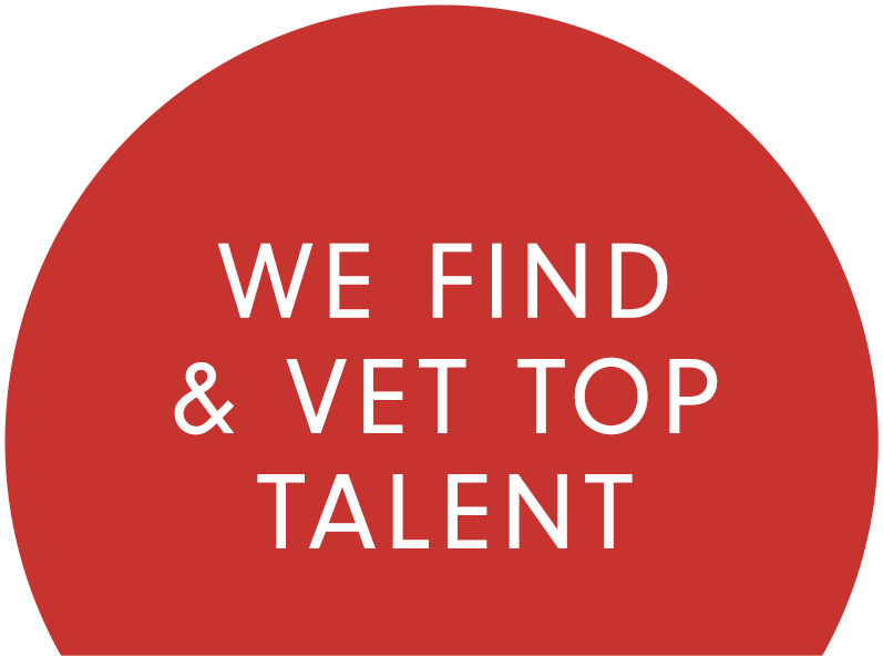 We find and vet top talent