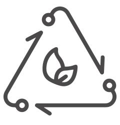 Zero waste icon