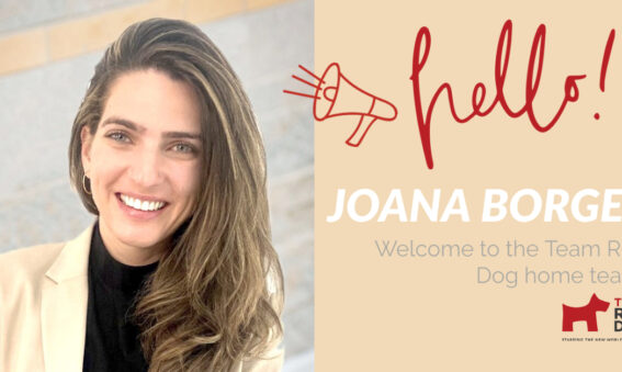 Joana Borges welcome to Team Red Dog!